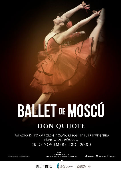 cartel ballet moscu quijote